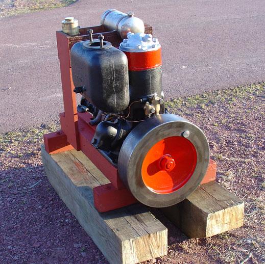 Tändkulemotor bränsle